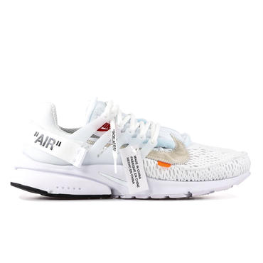 "OFF WHITE × NIKE ""THE 10"" AIR PRESTO / WHITE"