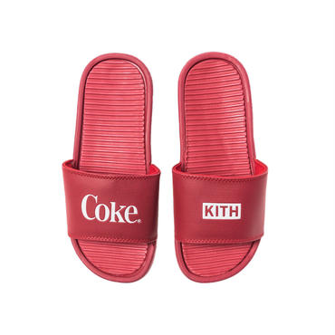 Kith x Coca-Cola Chancletas  / RED