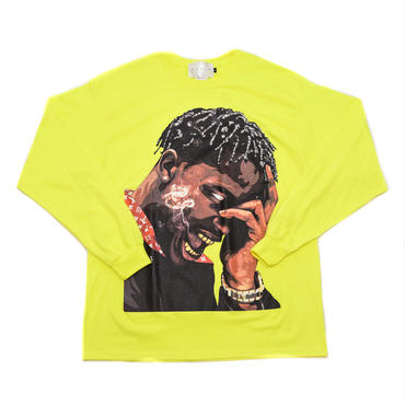 LS TEE LA FLAME / SEAFTY GREEN