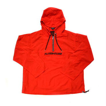 PLACES + FACES WINDBREAKER JACKET / RED