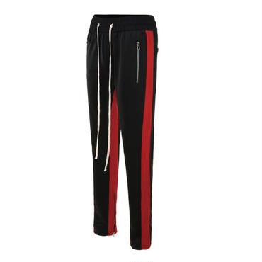 dsrcv RETRO PANTS V2  BLACK_RED / トラックパンツ