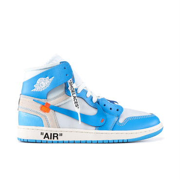 Nike Jordan 1 Retro High Off-White University Blue