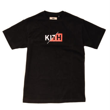 KITH SLASH BOX LOGO TEE