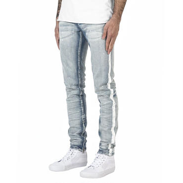 mnml M86 STRETCH TRACK DENIM / BLUE