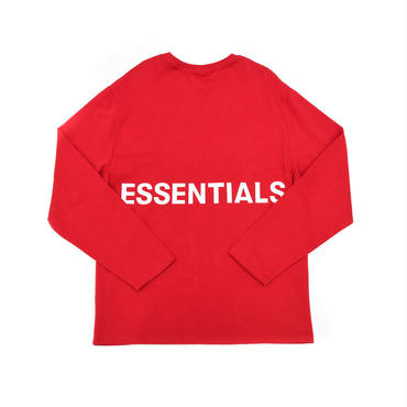 FOG  Essentials Boxy Graphic Ls Tee / RED