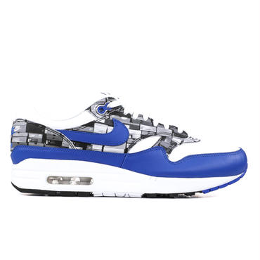 NIKE AIR MAX 1 PRINT / WHITE_BLUE