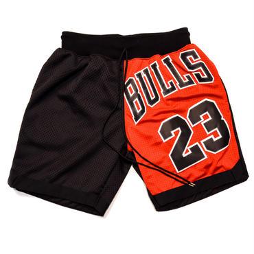 NBA UNIFORM REMAKE BASKET SHORTS / BULLS 23 / リメイク / バスケショーツ