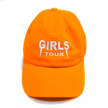 GIRLS TOUR CAP / ORANGE
