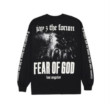 FEAR OF GOD × JAY-Z FORUM / フィアオブゴッド / ジェイジー / ロンT