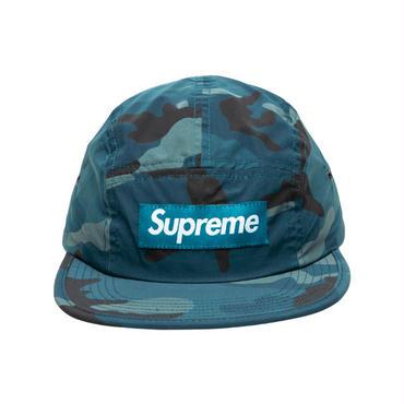 SUPREME  REFLECTIVE CAMO CAMP CAP / BLUE
