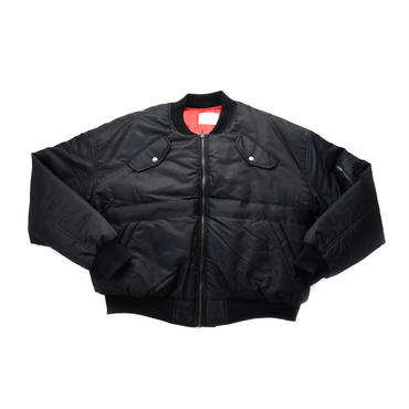 AMOUR ORIGINALS BOMBER JACKET /BLACK