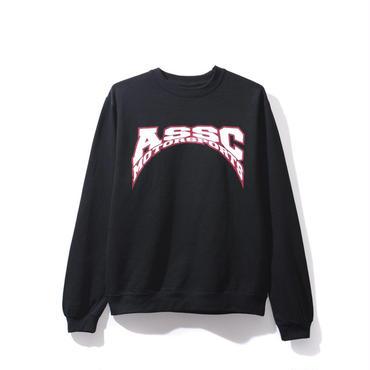 ANTI SOCIAL SOCIAL CLUB ASSC MOTO BLACK CREWNECK / BLACK