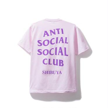 ANTI SOCIAL SOCIAL CLUB SHIBUYA PINK TEE / PINK