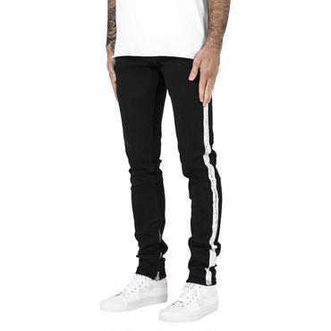 mnml M86 STRETCH TRACK DENIM / BLACK