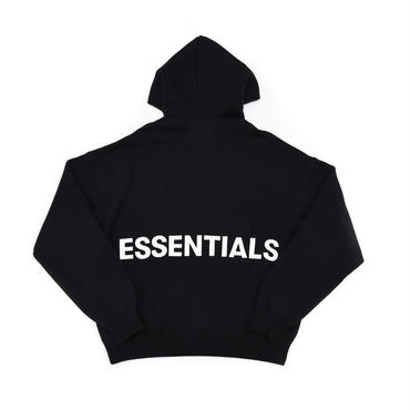 FOG  Essentials Graphic Pullover Hoodie / BLACK