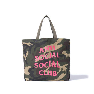ANTI SOCIAL SOCIAL CLUB  CAMO TOTE / GREEN