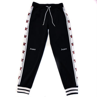 AMOUR VR STAR JERSEY PANTS / BLACK