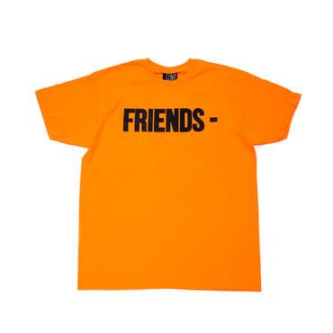 VLONE  FRIENDS TEE / ORANGE_BLACK