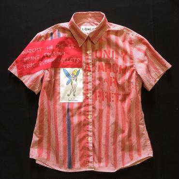 アナーキーシャツ レディースペイント半袖