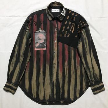 Newアナーキーシャツ メンズL  ダークジョニー 006
