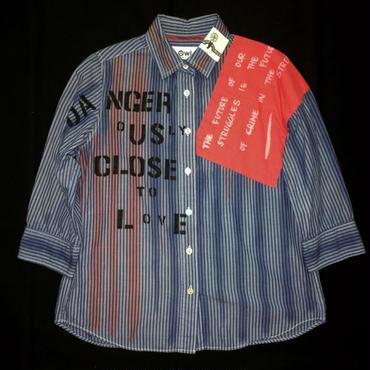 アナーキーシャツ 七分袖レディース