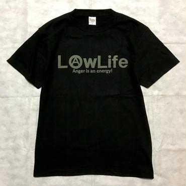 新LowLifeロゴTee   ブラック(期間限定受注生産)