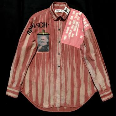 Newアナーキーシャツ メンズL  ピンクジョニー