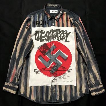 アナーキーシャツ メンズL DESTROY