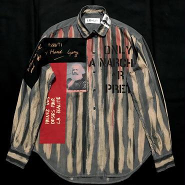 Newアナーキーシャツ メンズM  グレー