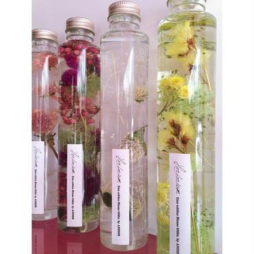 Herbarium(ハーバリウム)花の標本(ミックス・ロングボトル)(BOX付)