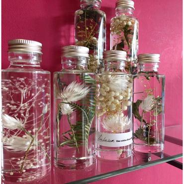 Herbarium(ハーバリウム)花の標本ミニサイズ4本セット(クリアケース付)