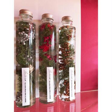 Herbarium(ハーバリウム)花の標本(ミックス・ロングボトル)(BOX付)  クリスマス限定