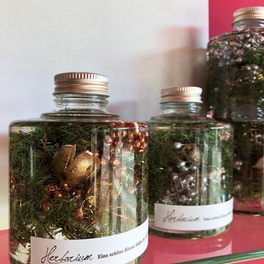 Herbarium(ハーバリウム)花の標本(ミックス・スタッキングボトル)(BOX付)  クリスマス限定