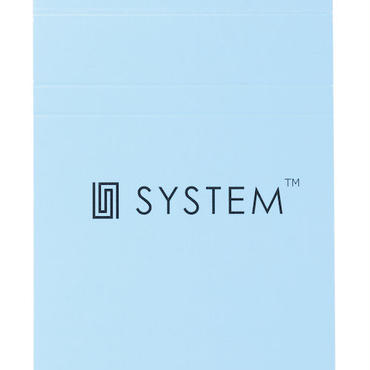 【交換用】SYSTEM™専用メモ帳 FIELD NOTE