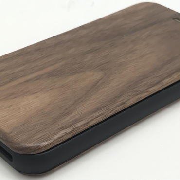 Walnut Flip Case for iPhone 7