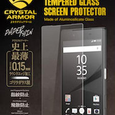 クリスタルアーマー® PAPER THIN 液晶保護 for Xperia Z5(Z5 液晶保護)