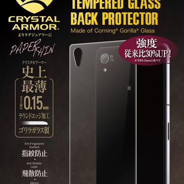 【API-Z2PT004】CRYSTAL ARMOR PAPER THIN GORILLA GLASS BACK PROTECTOR FOR XPERIA Z2