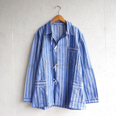 Deadstock pajamas shirts BLUE