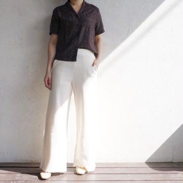 PHEENY Rayon dot S/S shirts