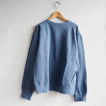 USED  solid sweat blue