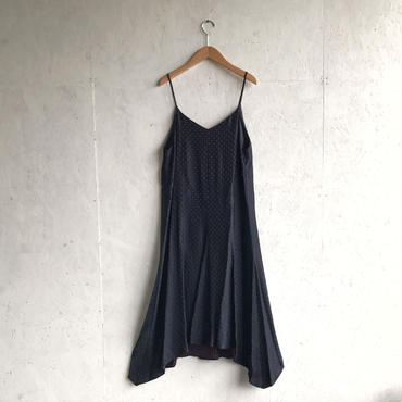 PHEENY Rayon dot camisole dress