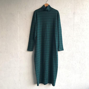 Vintage border maxi cutsew dress