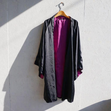 USED kimono reversible gown