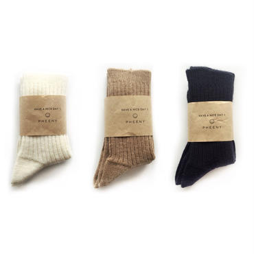 PHEENY wool sox 14inch