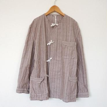 Deadstock pajamas gown BROWN