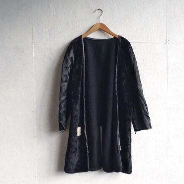 USED military boa coat linner