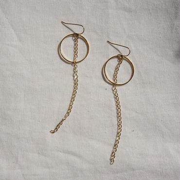 APPRECIATIVE Circle Chain pierce