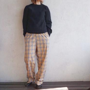 USED check pants
