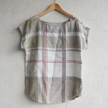 Used linen check top