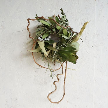 Green wreath M C